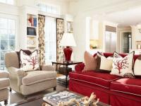 Бордовая гостиная: 80 фото лучших вариантов идеального сочетания бордового цвета