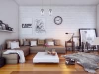 Часы в интерьере гостиной: пережиток прошлого или элемент идеального дома? (88 фото + видео)