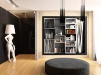 Cтеллажи для гостиной: занимаем место правильно и функционально  (86 фото + видео)