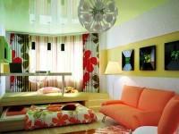 Детская и гостиная в одной комнате — особенности цвета и проблемы расстановки мебели + 66 фото