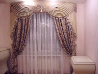 Двухцветные шторы для гостиной – 83 фото лучших комбинаций вне шаблона