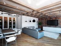 Гостиная лофт — 80 фото как сохранить сложный баланс цвета и освещения для современного образа