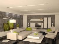Гостиная минимализм — цветовые решения и главные правила оформления интерьера + 74 фото