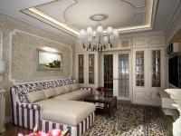 Гостиная неоклассика – современная фешенебельная красота ценой в простор (98 фото + видео)