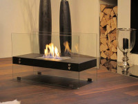 Гостиная с электрическим камином — главные преимущества и правила установки + 82 фото