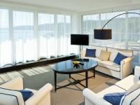 Гостиная с панорамными окнами — 96 фото как использовать преимущество роскошного вида по максимуму