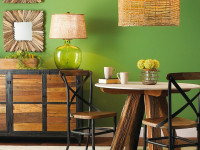 Гостиная в эко стиле — подбираем материалы и правильно декорируем самый зелёный стиль + 60 фото
