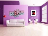 Гостиная в фиолетовом цвете: динамичность красоты и яркого стиля в 73 фото