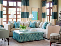 Гостиная в голубых тонах — главные преимущества и особенности дизайна (77 фото)