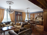 Гостиная в классическом стиле — безупречная гармония проверенная временем + 90 фото