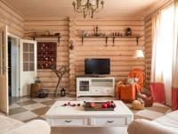 Гостиная в стиле кантри — 75 фото простого и красивого загородного стиля
