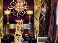Гостиная золотого цвета — варианты красивого сочетания (96 фото)