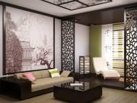 Интерьер гостиной в восточном стиле – важные особенности и примеры сочетаний + 80 фото