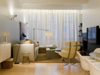 Как подобрать тюль для гостиной: подбор ткани в зависимости от степени освещённости (61 фото + видео)