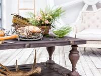 Кофейные столики в интерьере гостиной: свежие идеи относительно важного элемента (95 фото + видео)