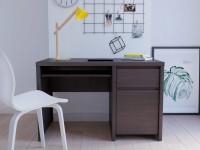 Компьютерный стол в гостиной — необходимость поиска оптимальной альтернативы + 53 фото