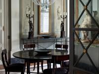 Круглый стол в гостиной — правила размещения и причины использования + 81 фото