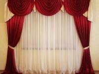 Ламбрекены для гостиной – типы, особенности применения и правила ухода (55 фото + видео)