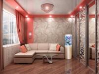Розовая гостиная – 77 фото идей как можно сочетать интерьер с розовым оттенком
