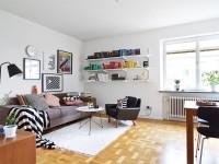 Скандинавская гостиная – 70 фото особенностей продвинутого самобытного дизайна