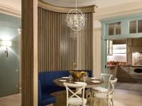 Средиземноморская гостиная: цветовые решения и особенности отделки + 85 фото