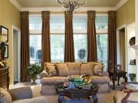Темные шторы в гостиной : правила использования и решение проблемы выбора + 72 фото