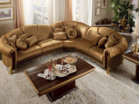 Угловой диван в гостиной — основа комфортной жизни и компактность размещения + 95 фото
