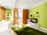 Зеленая гостиная: природная гармония цвета и дизайна +78 фото