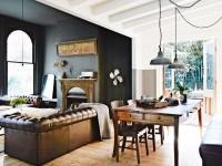 Зонирование гостиной и кабинета — как совместить два интерьера? (95 фото)