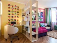 Зонирование гостиной комнаты: скрытые и подчеркнутые методы разделения + 85 фото