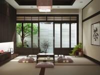 Гостиная в японском стиле — 82 фото дизайна вне места и времени