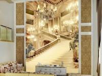 3д обои для гостиной — современный способ яркого оформления дизайна! (84 фото)