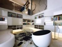 Гостиная с высоким потолком — когда есть дополнительное место над головой + 96 фото