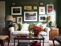 Как украсить стену в гостиной: от сложных инсталляций до хенд-мейда (79 фото + видео)