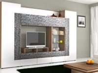 Красивые стенки для гостиной — Качественные и удобные варианты в интерьере (83 фото)