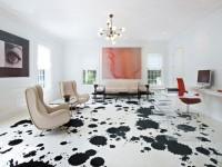 Наливной 3D пол в гостиной — современное великолепие иллюзий + 71 фото