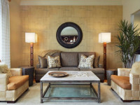 Обои для гостиной — 82 фото красивых варианта для оформления интерьера!