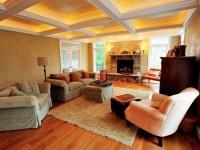Освещение гостиной —  98 фото как правильно организовать распределение света