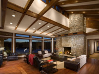 Отделка потолка в гостиной — 81 фото идея красивого и качественного интерьера!