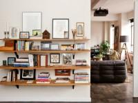 Полки в гостиную – 66 фото вариантов функционального обустройства в интерьере!