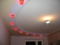 Потолки из гипсокартона в гостиной — как создать уникальный стиль и сломать стереотипы (89 фото + видео)