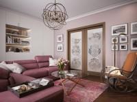 Раздвижные двери для гостиной — 90 лучших вариантов в современном интерьере!