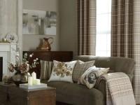 Шторы на люверсах в гостиную — простота плюс великолепный дизайн (101 фото + видео)