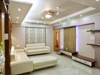 Точечные светильники в гостиной – 96 фото проектов тотального и зонального освещения