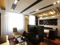 Варианты необычных потолков для гостиной — 91 фото концепций как приукрасить любую комнату