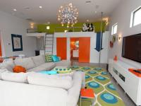 Яркие интерьеры гостиной — 85 фото комнат куда хочется возвращаться снова и снова
