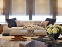 Элегантные римские шторы – стильный дизайн интерьера
