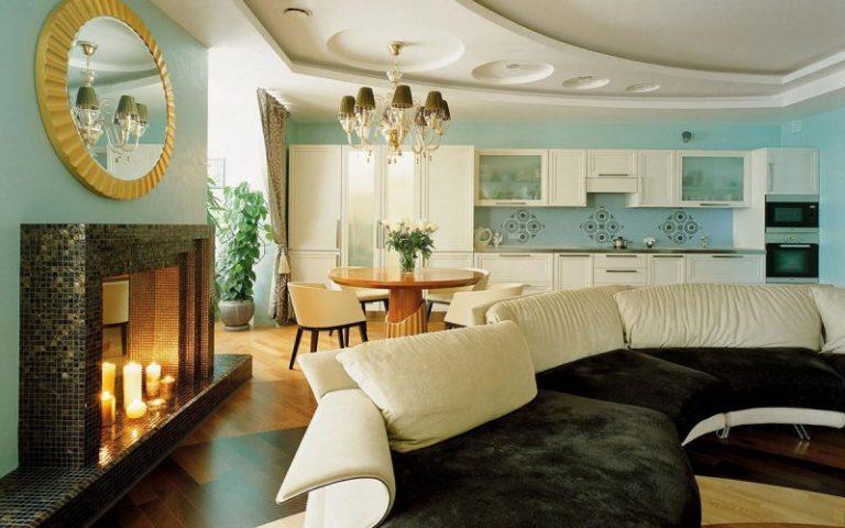 Гостиные в итальянском стиле дизайн