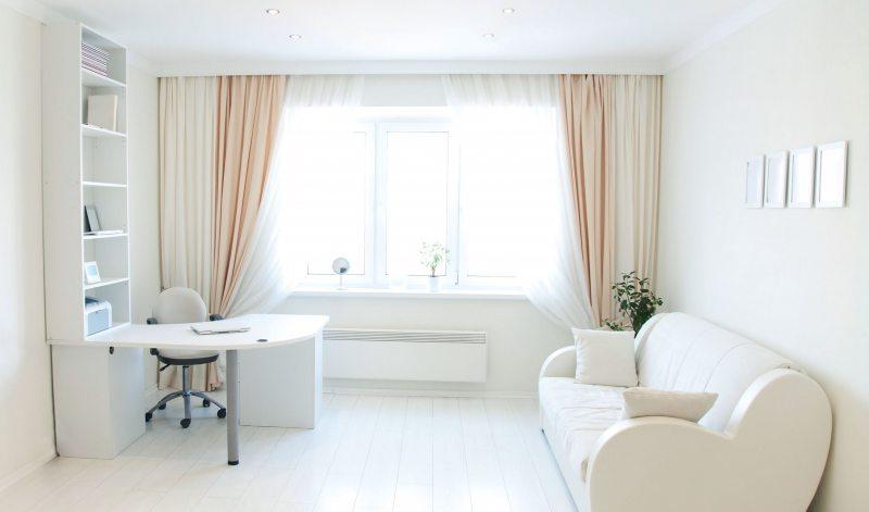 Как зрительно увеличить объем комнаты