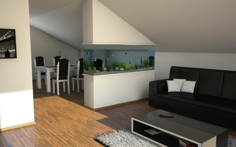 Akvarium v gostinoy 26
